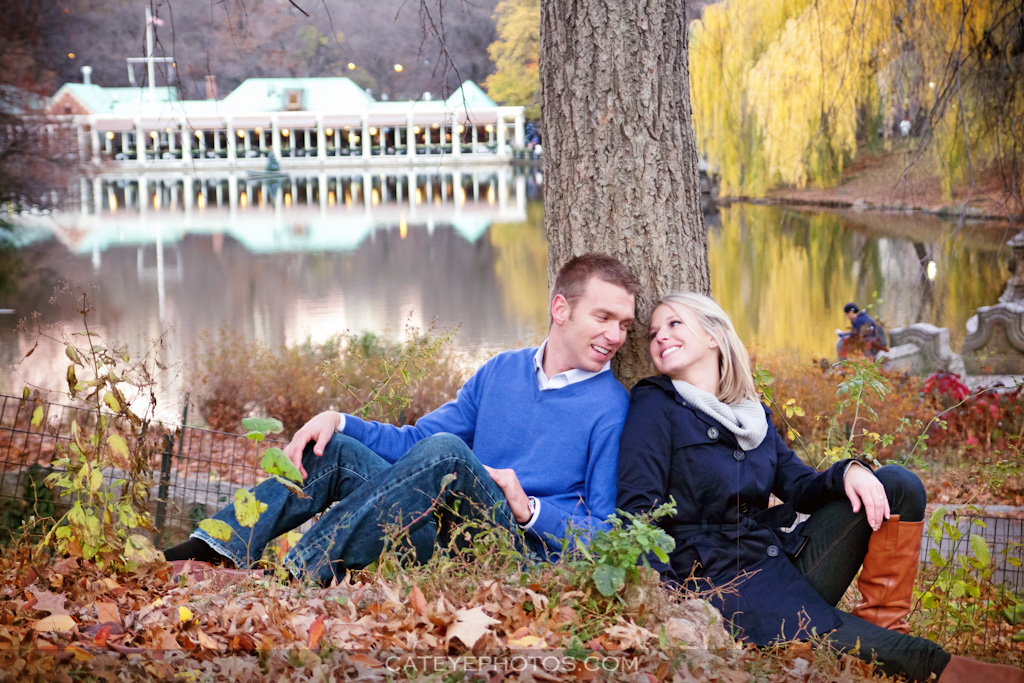 New york Central Park engagement photography