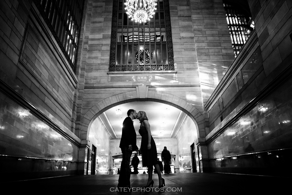 Grand Central Couple Engagement session
