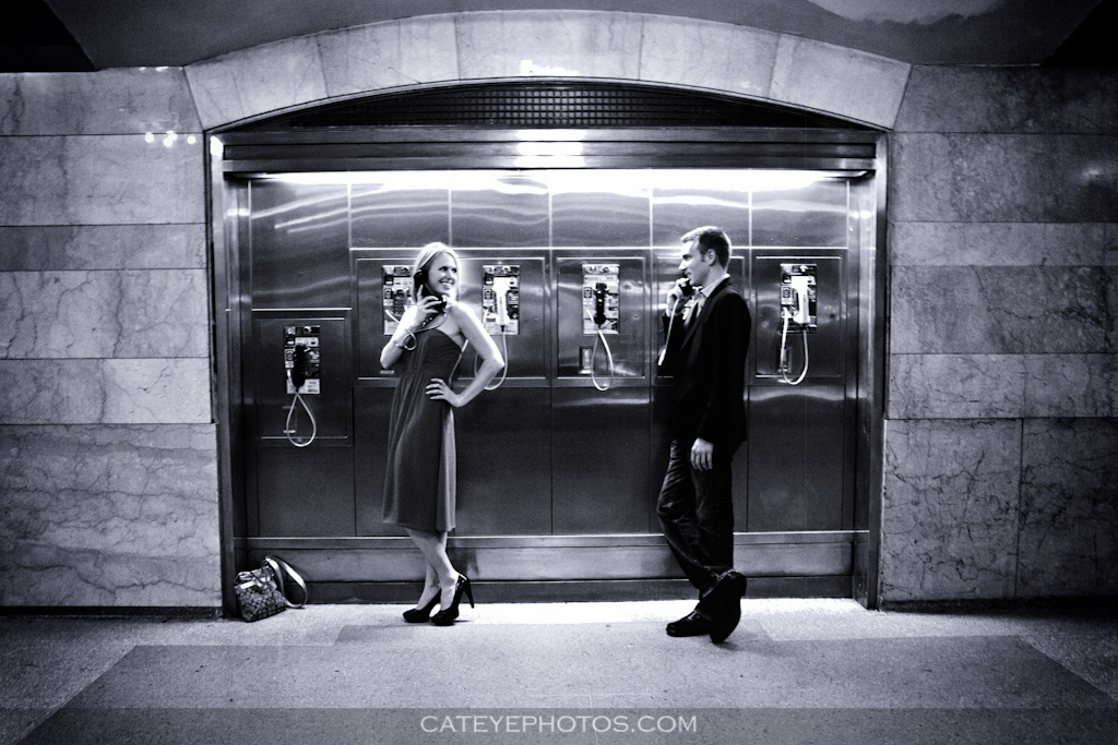 grand central terminal, couple, photography
