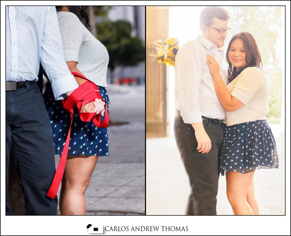 chinatown, couple, summer, flowers, blue skirt, red thread of destiny