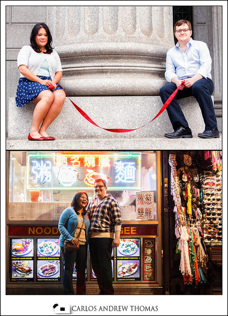 city hall, red thread of destiny,couple, engagement session, prenup photo shoot, brooklyn wedding photographer