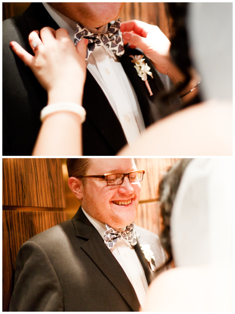 bride, groom, first look, elevator,intimate, wedding day, brooklyn wedding photographer