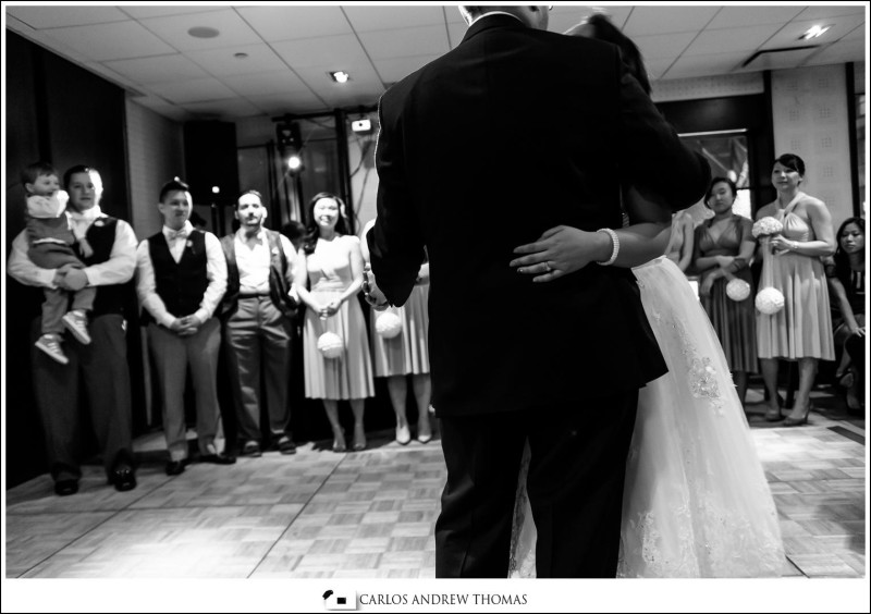First Dance, wedding, bride groom,black and white
