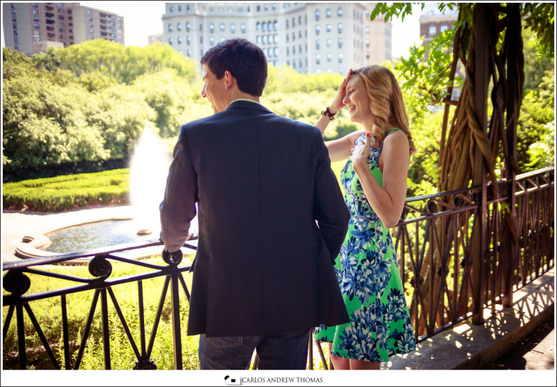 italian garden,couple, central park,engagement, photography