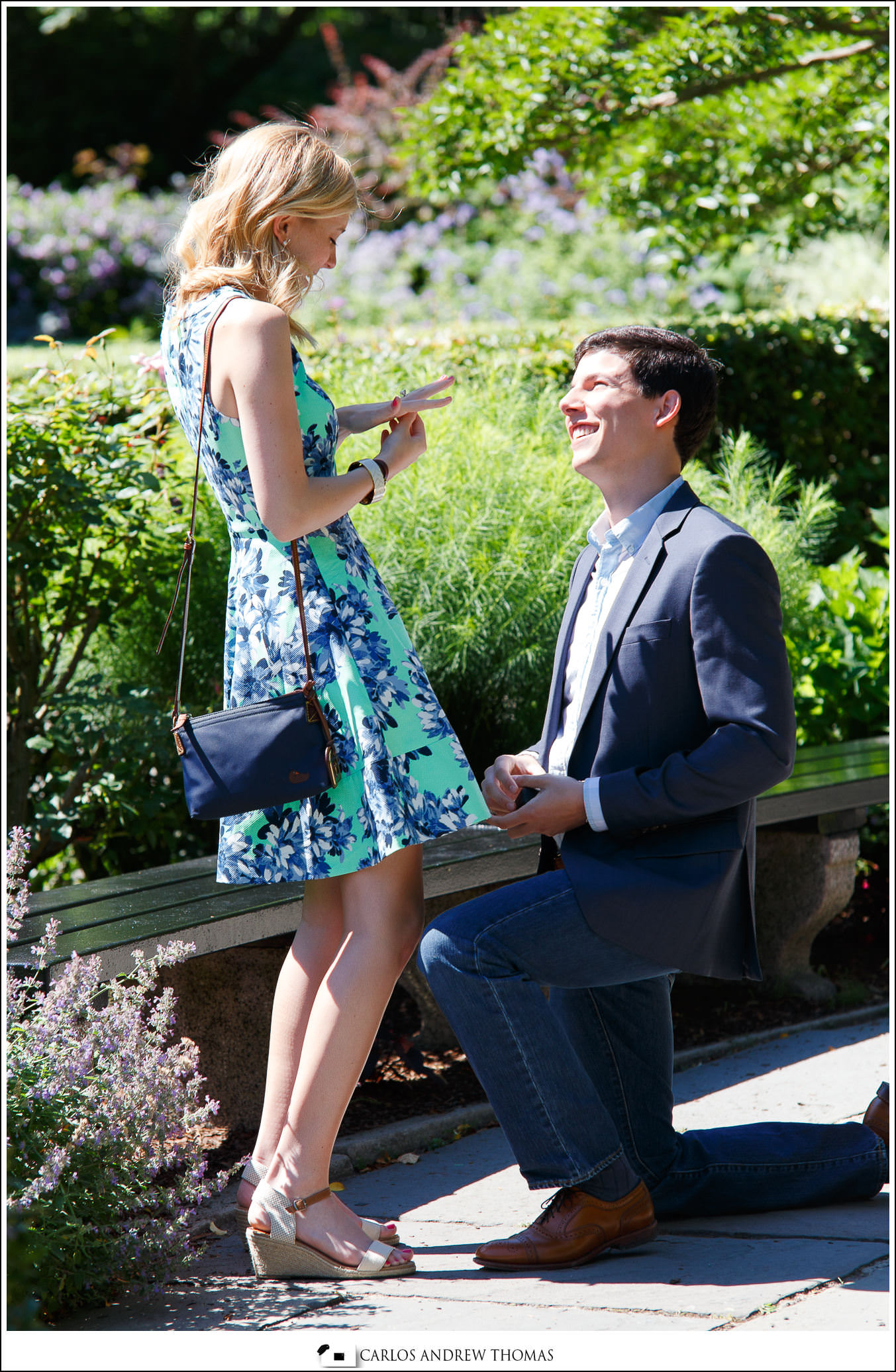 english garden,proposal,couple, central park,engagement, photography