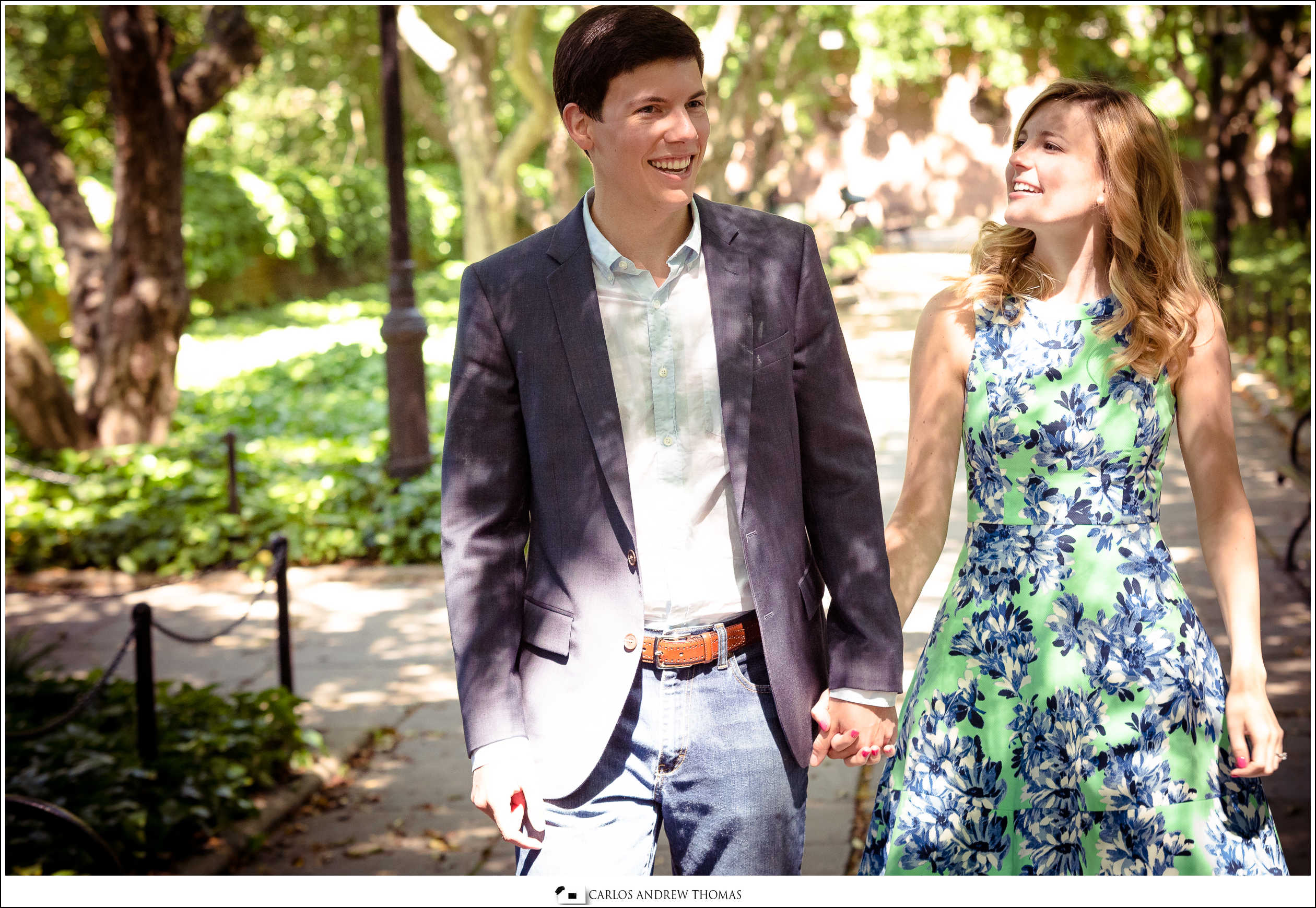 Nick + Shelby, Central Park Conservatory Garden- Engagement Session-081